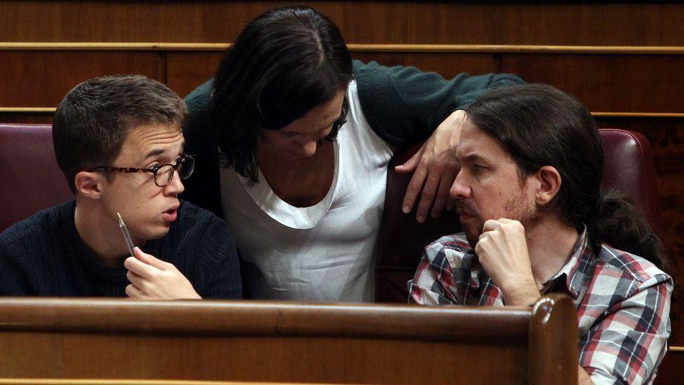 Carolina Bescansa dimite de la Ejecutiva de Podemos.Bescansa, en una imagen del 2015