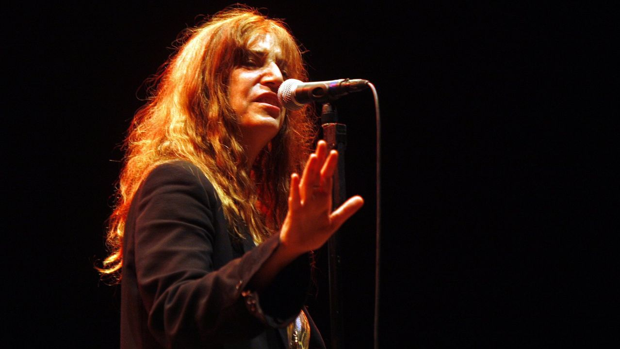 Patti Smith en el Noroeste 2019.PATTI SMITH EN SU CONCIERTO DE VIGO EN EL 2010