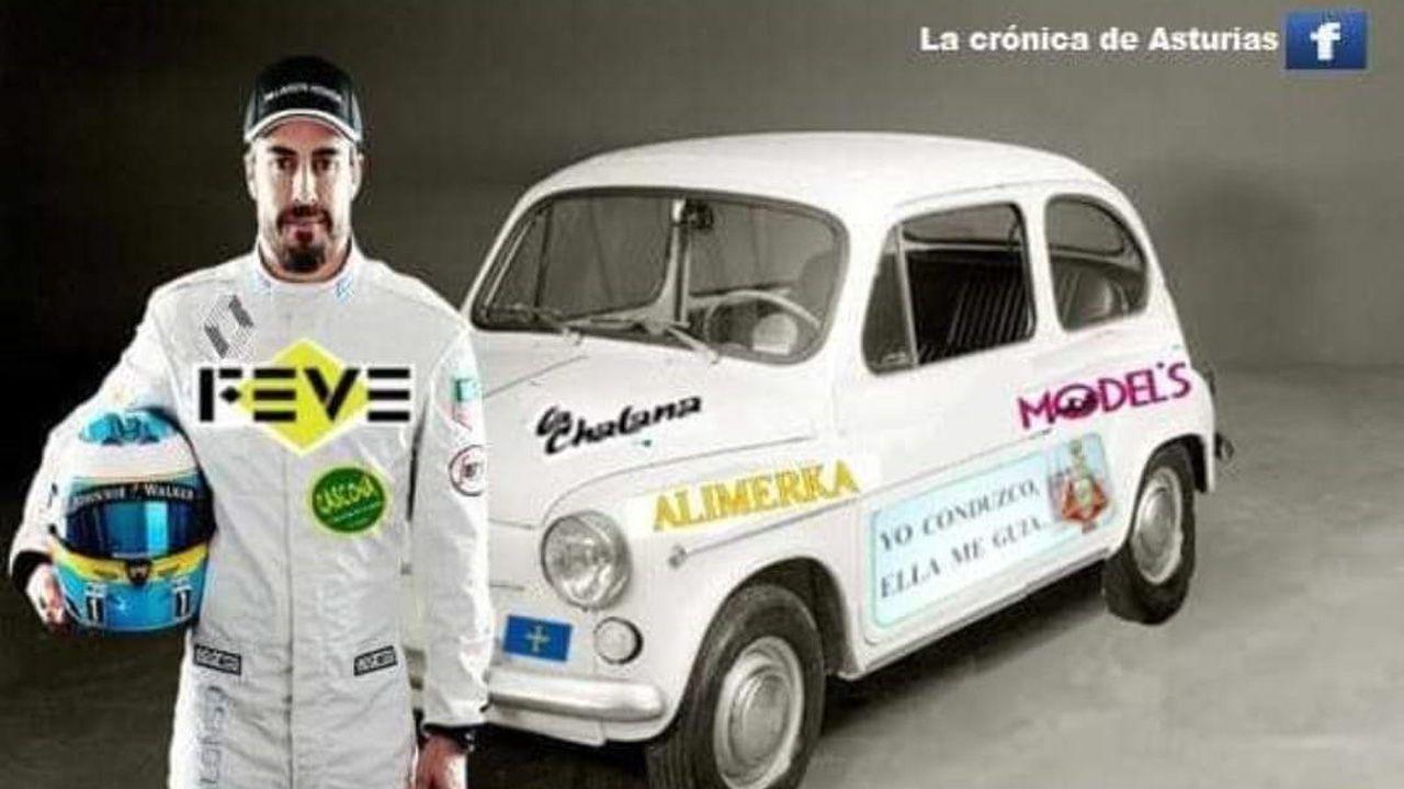 Meme sobre el regreso de Fernando Alonso a la F1