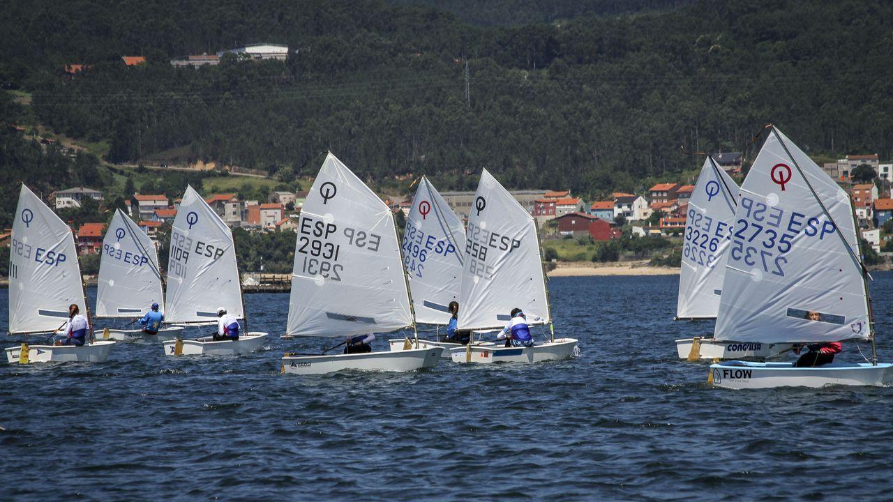 Así se vivióel Campeonato Gallego por Equipos de Optimist, en Cabo de Cruz