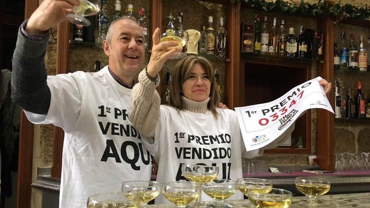El bar Cervantes, en Ourense