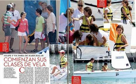 madridarena.Además del paseo por Miami de Carla Goyanes y familia, la revista se ocupa del veraneo de la familia real.