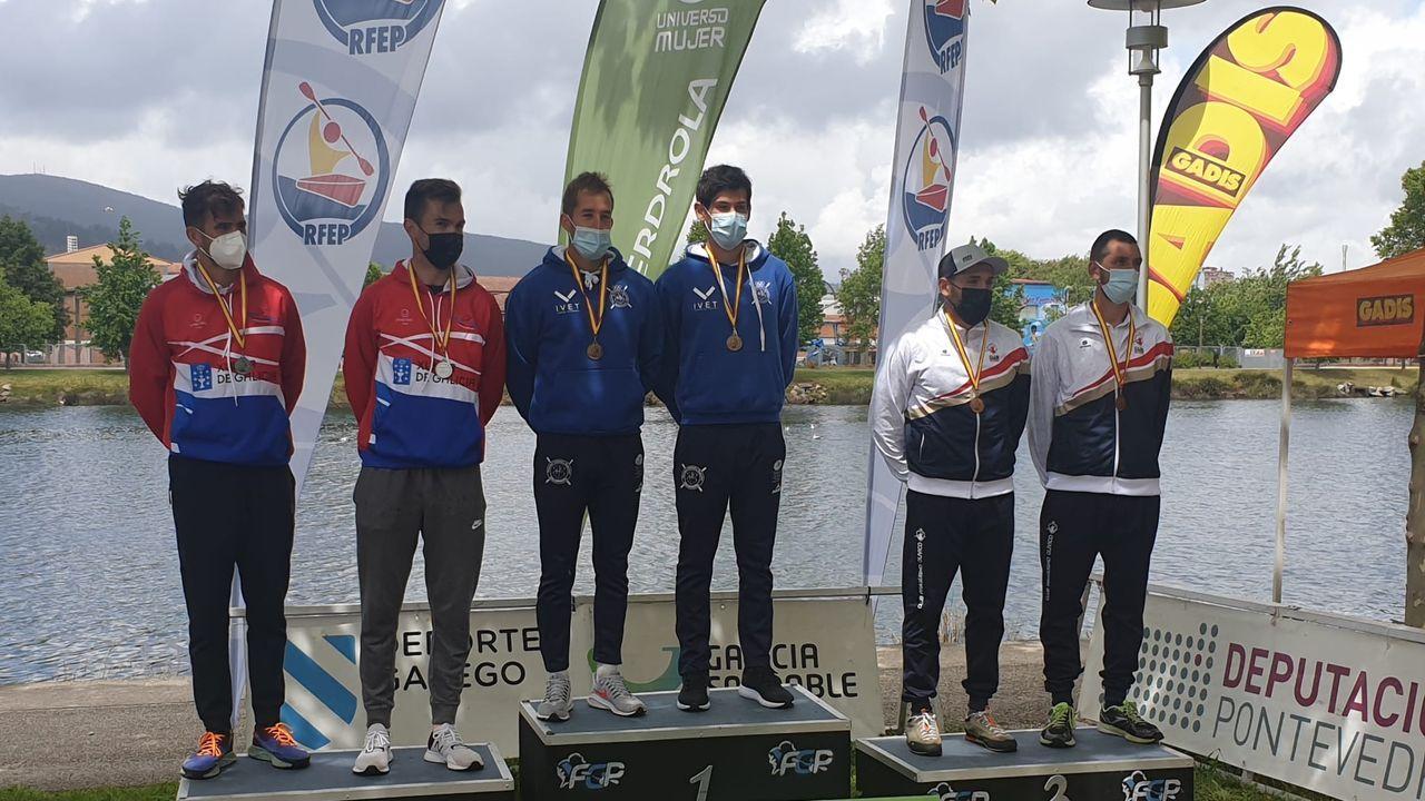 El k-2 valdeorrés fue segundo en el Campeonato de España de maratón, en Pontevedra, y se clasificaban las dos primeras embarcaciones por equipos para la cita de Moscú