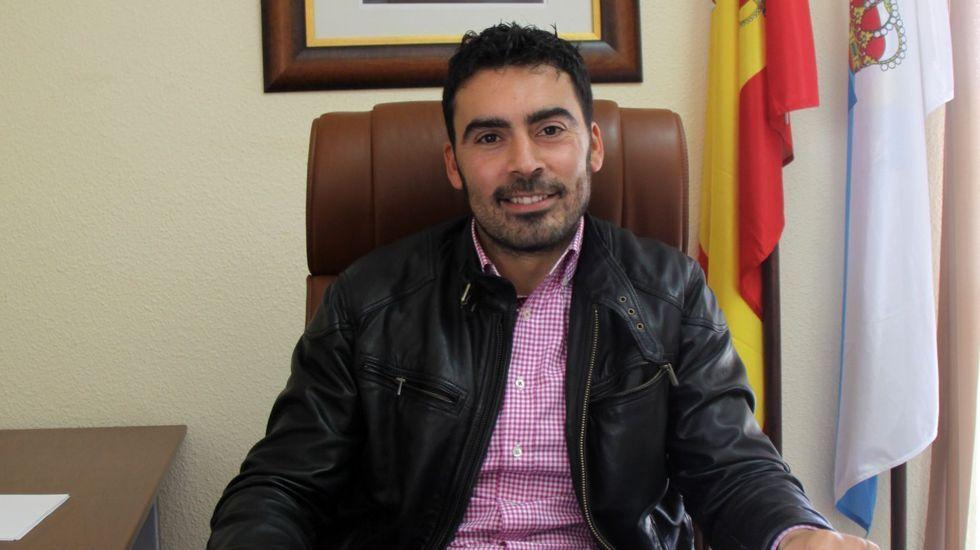 Juan Anta es alcalde de A Veiga