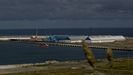 Imagen de archivo del muelle exterior de A Coruña, gestionado por una Autoridad Portuaria que destaca en Galicia, con 2,92 millones de toneladas en el primer trimestre de este año