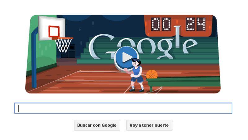 Doodle de Google Baloncesto