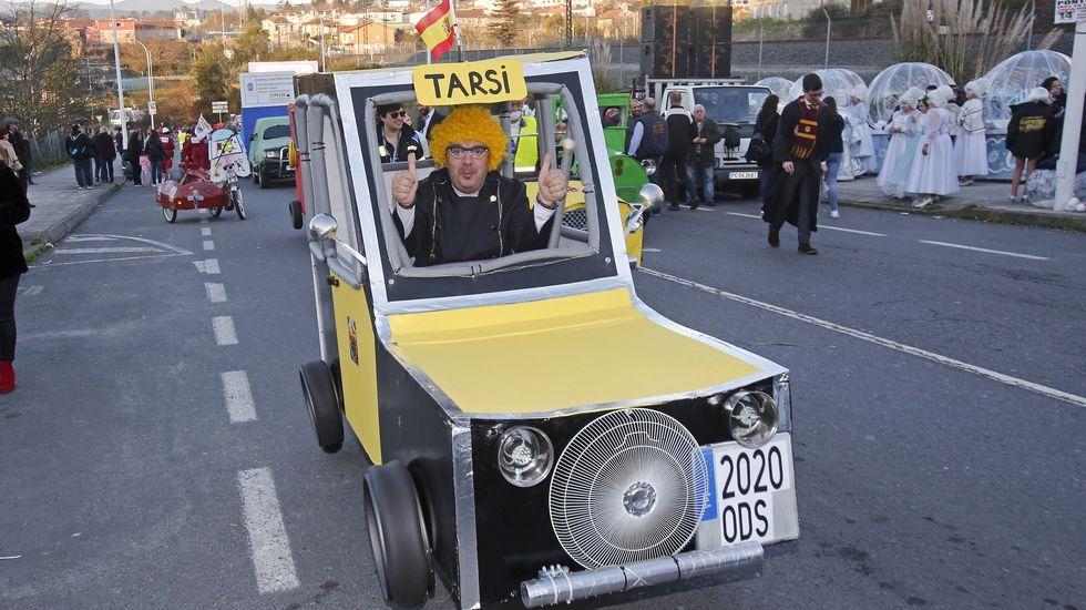 Desfile de Carnaval en Pontevedra