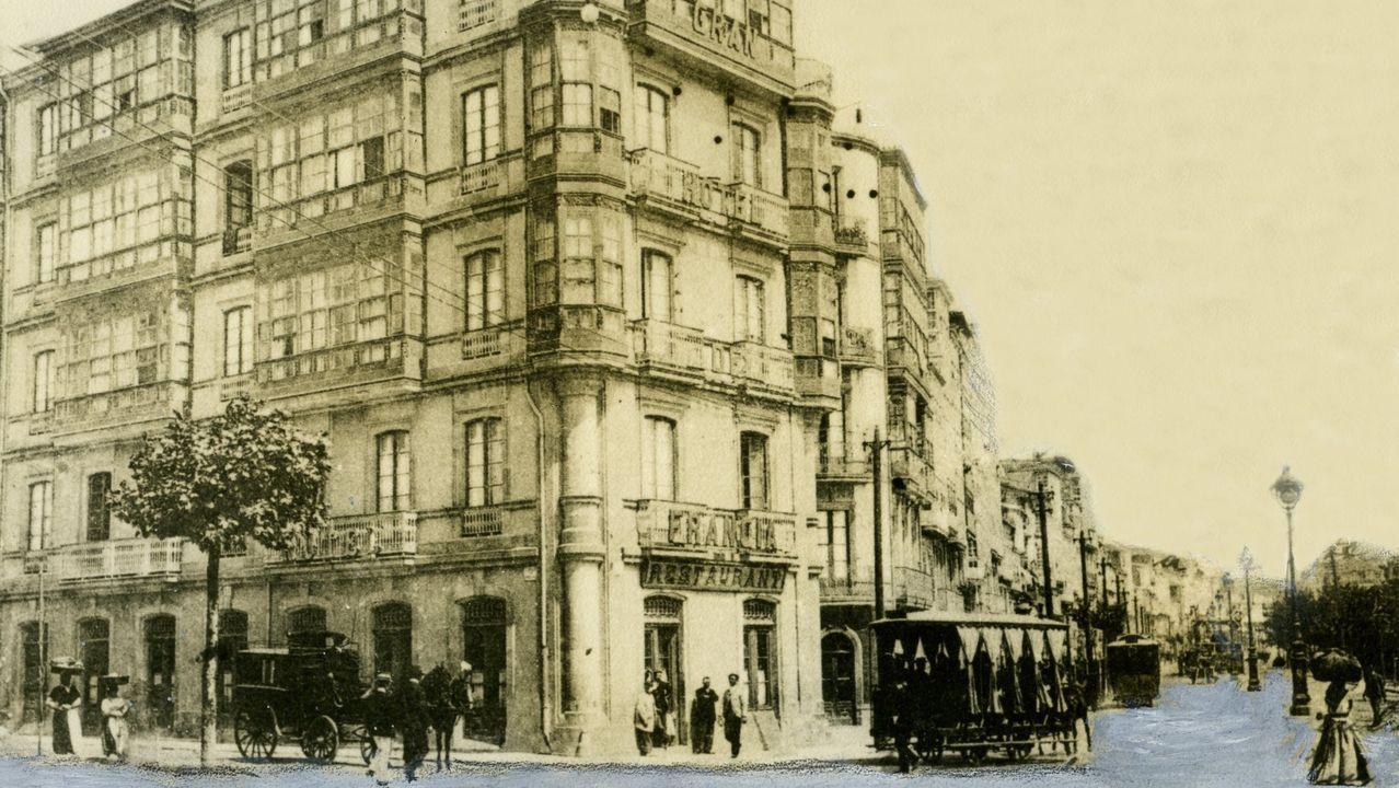 DoubleTree de A Coruña: entramos en el primer hotel Hilton de Galicia.RETROSPECTIVA DEL antiguo Gran Hotel de Francia.