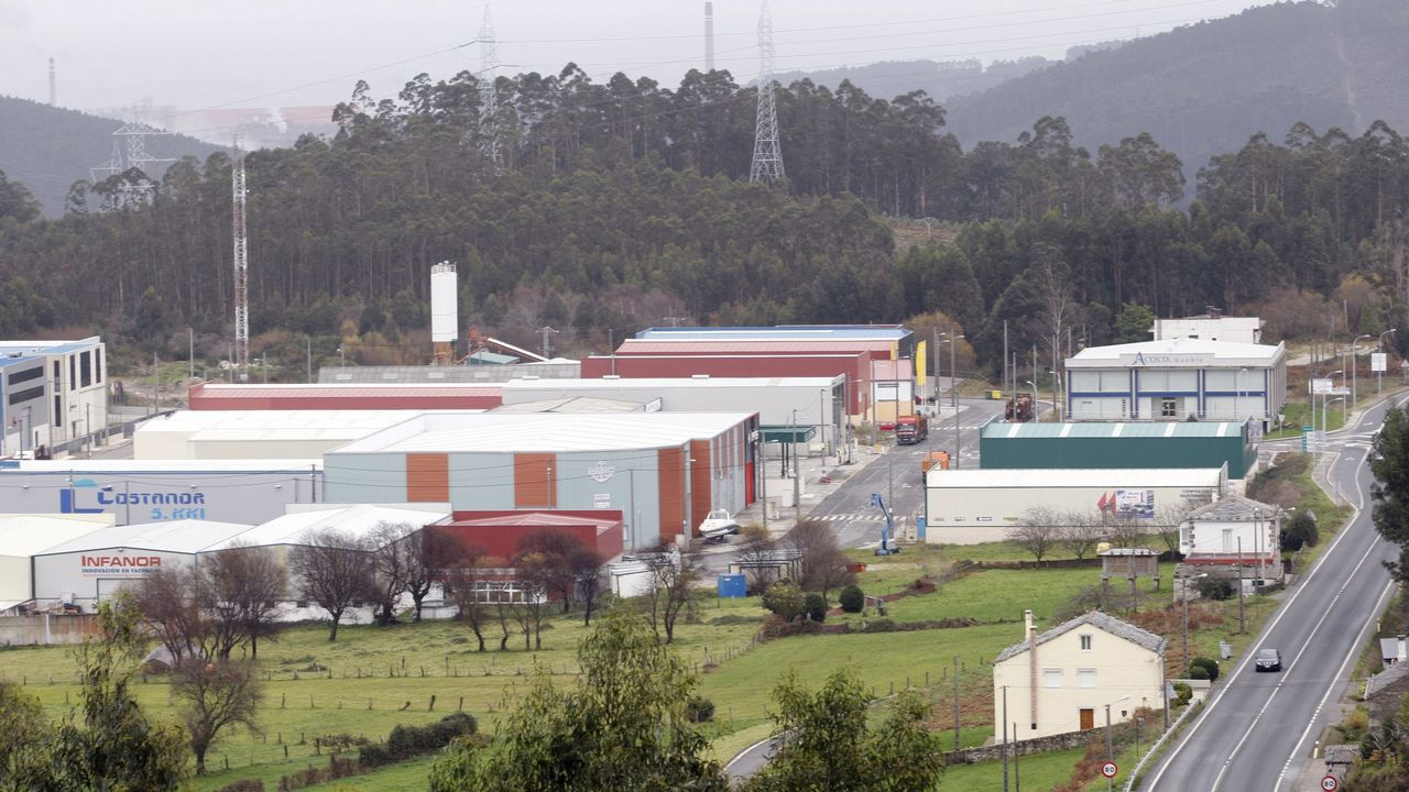 Asturias.Baterias de coque de Avilés de Arcelor