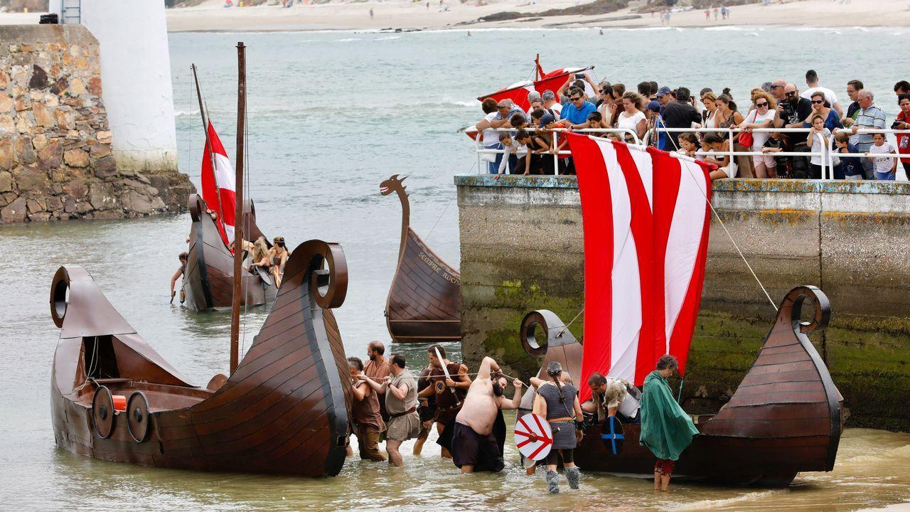 Festa Normanda. Desembarco. Foz