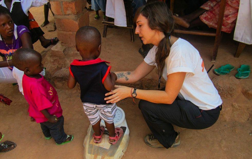La tensión en Idomeni, en imágenes.Ruth Conde trabaja ahora en la creación de una unidad de pediatría en Guinea Bissau.