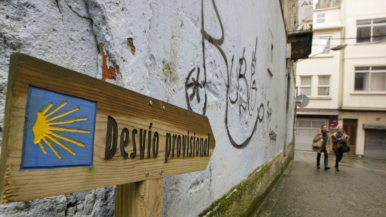 Carnaval en A Coruña.Participantes en la fiesta de Coirós
