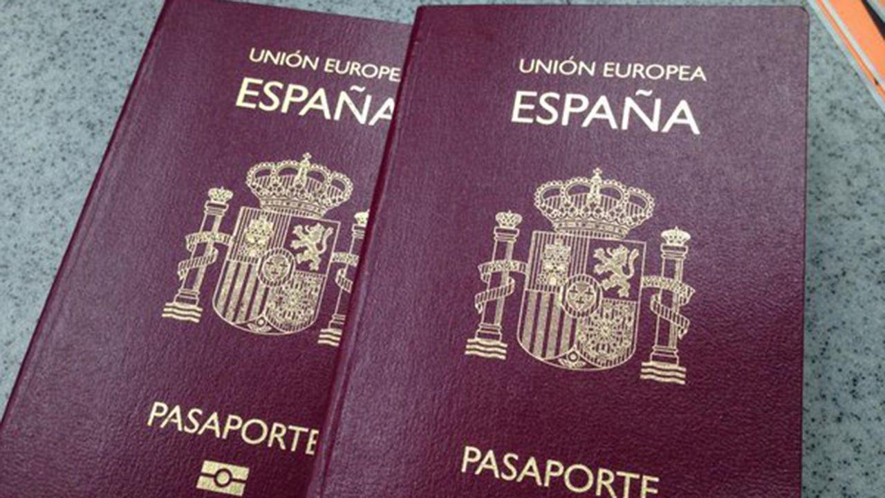 magno.Pasaporte español