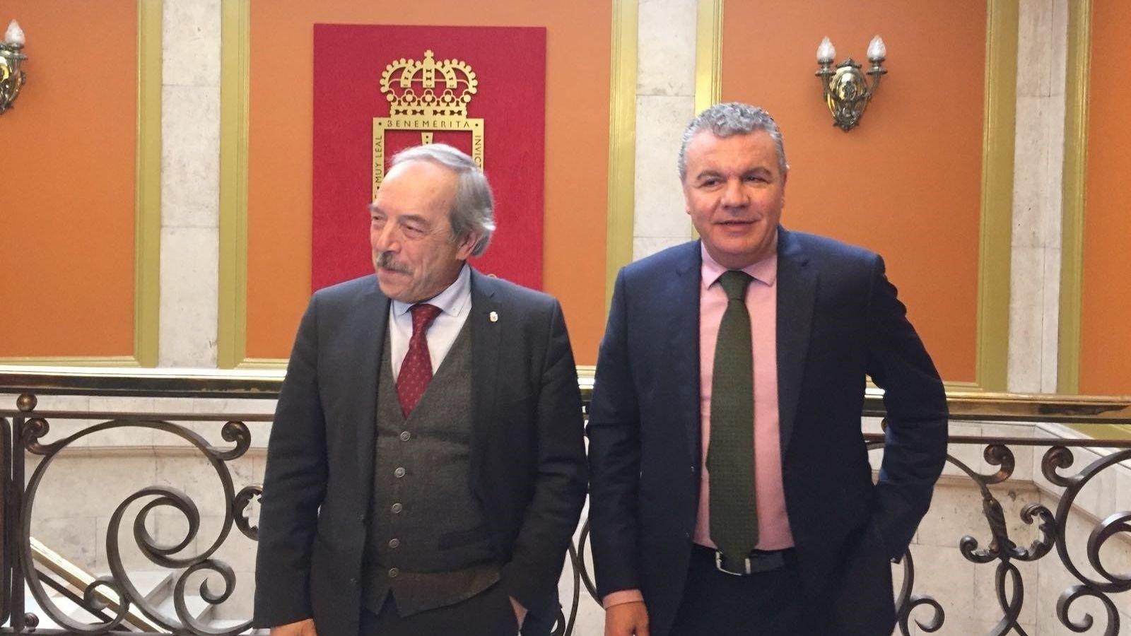 Belarmino Feito y Wenceslao López.Consejo ejecutivo de FADE