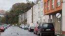 La calle Fermín Rivera, en el barrio de A Ponte