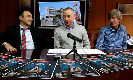 El espectáculo «Música Ligera» se representará el día 22, a las nueve de la noche, en el teatro Principal.