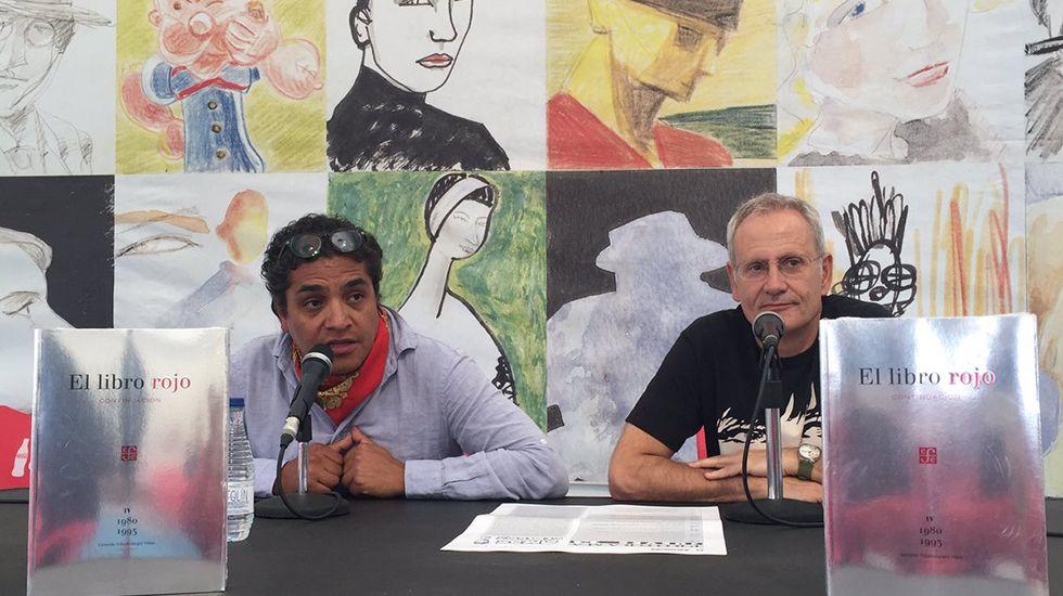 Gerardo Villadelángel en la Semana Negra