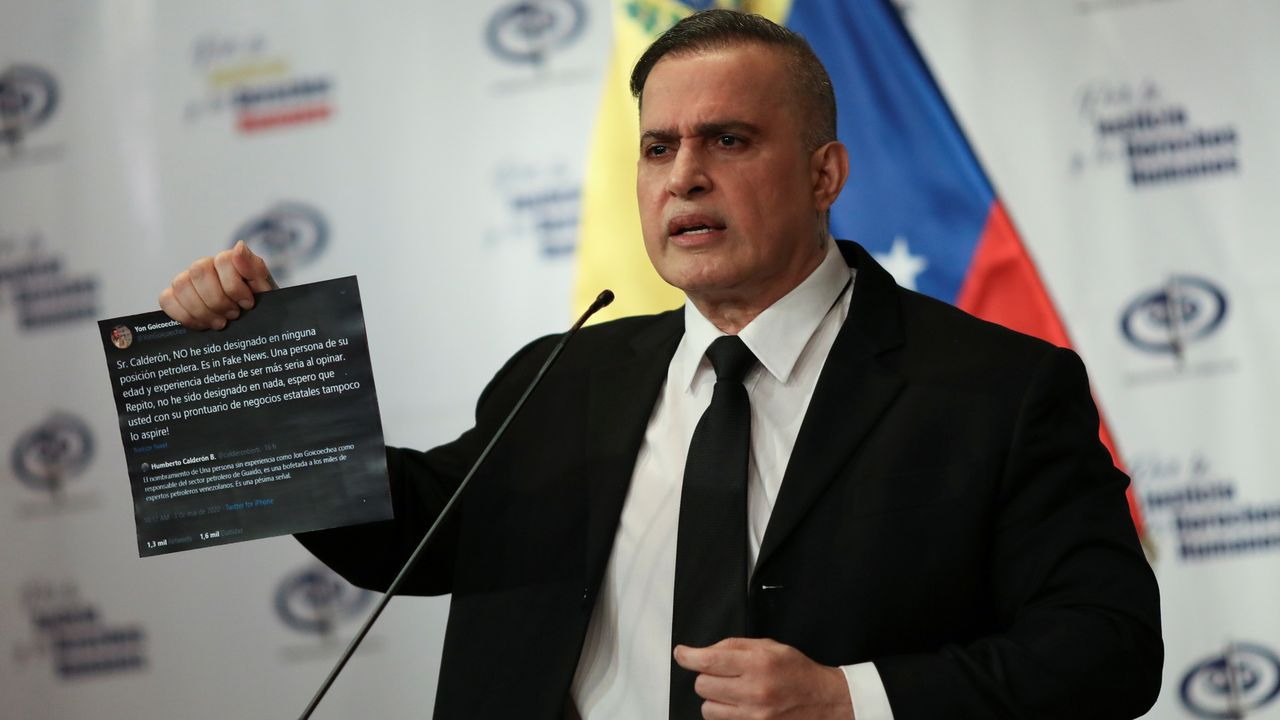 El fiscal general venezolano, Tarkek William Saab
