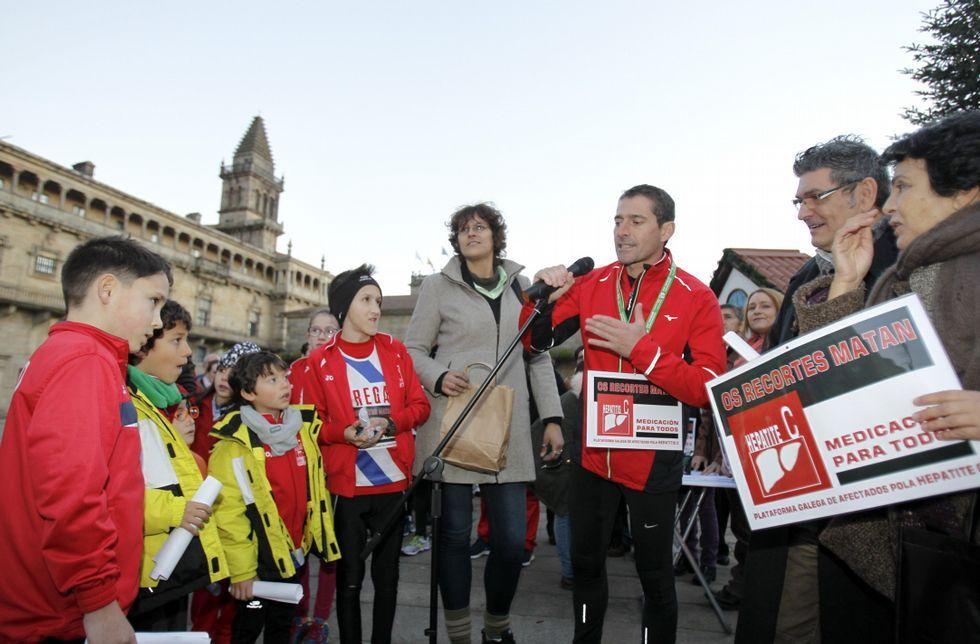 Estas son las penas de los principales imputados en la Gürtel.Los atletas corrieron desde Vigo a Santiago por relevos para exigir el tratamiento.