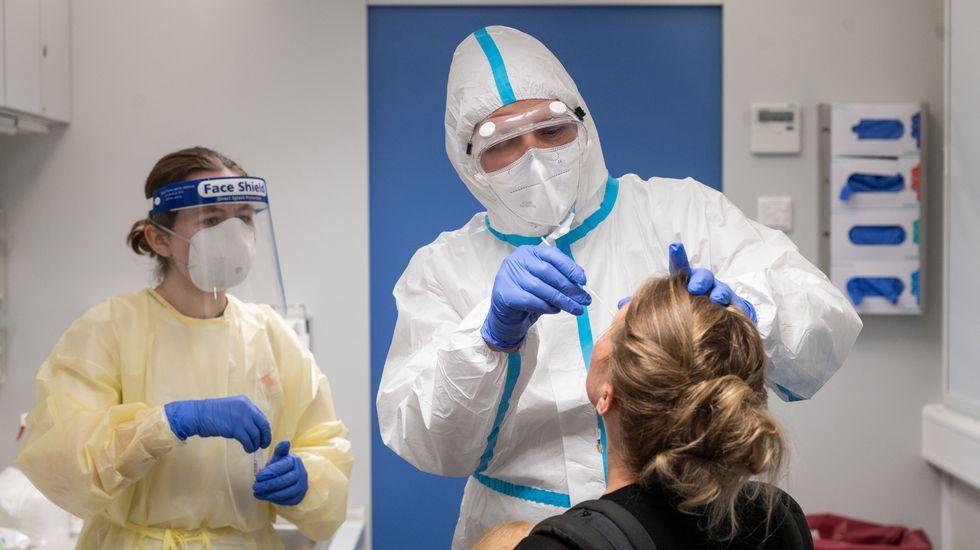 Imagenes de la pandemia en el mundo 13/08