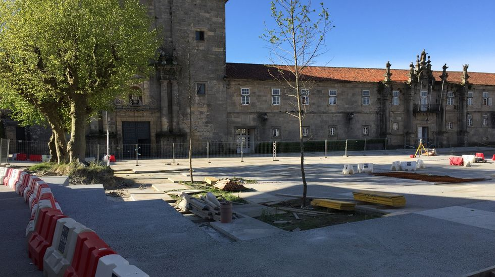 Conxo, claros y oscuros en imágenes.Presentación del proyecto «O Camiño contado», en el Concello de Pontevedra