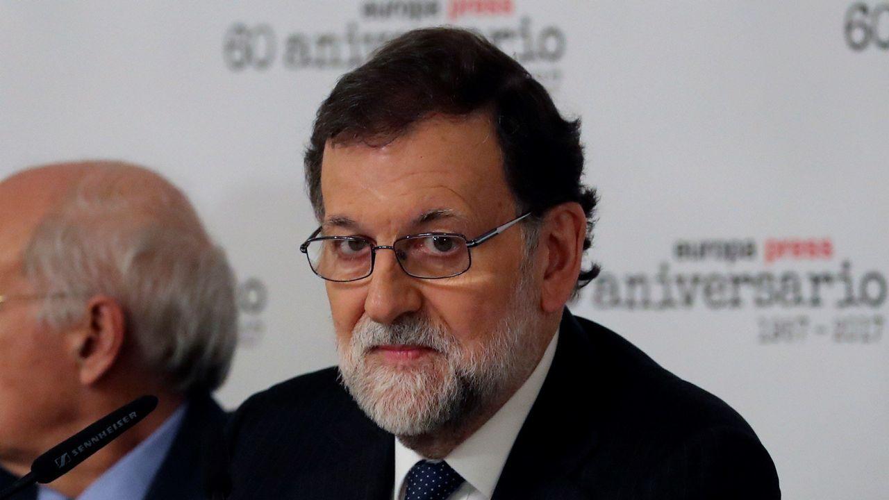 La cumbre del Eo.Alberto Núñez Feijoo y Javier Fernández