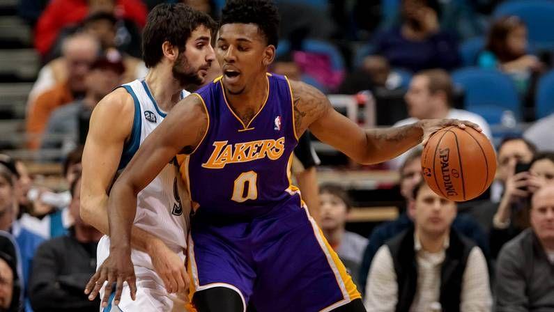 Primer capítulo de The Finish Line.Odom, con Kobe Bryant en el 2009