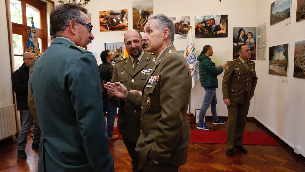 Aniversario de la Brilat.Fotografía facilitada por el ministerio de Defensa de Antonio Carrero Jiménez