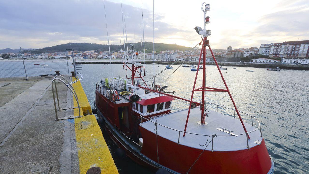 Un barco de Laxe está en cuarentena tras dos afectados por covid entre su tripulación