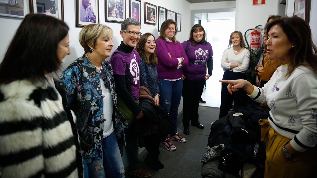 Mujeres candidatas a las municipales en la comarca de A Coruña, juntas