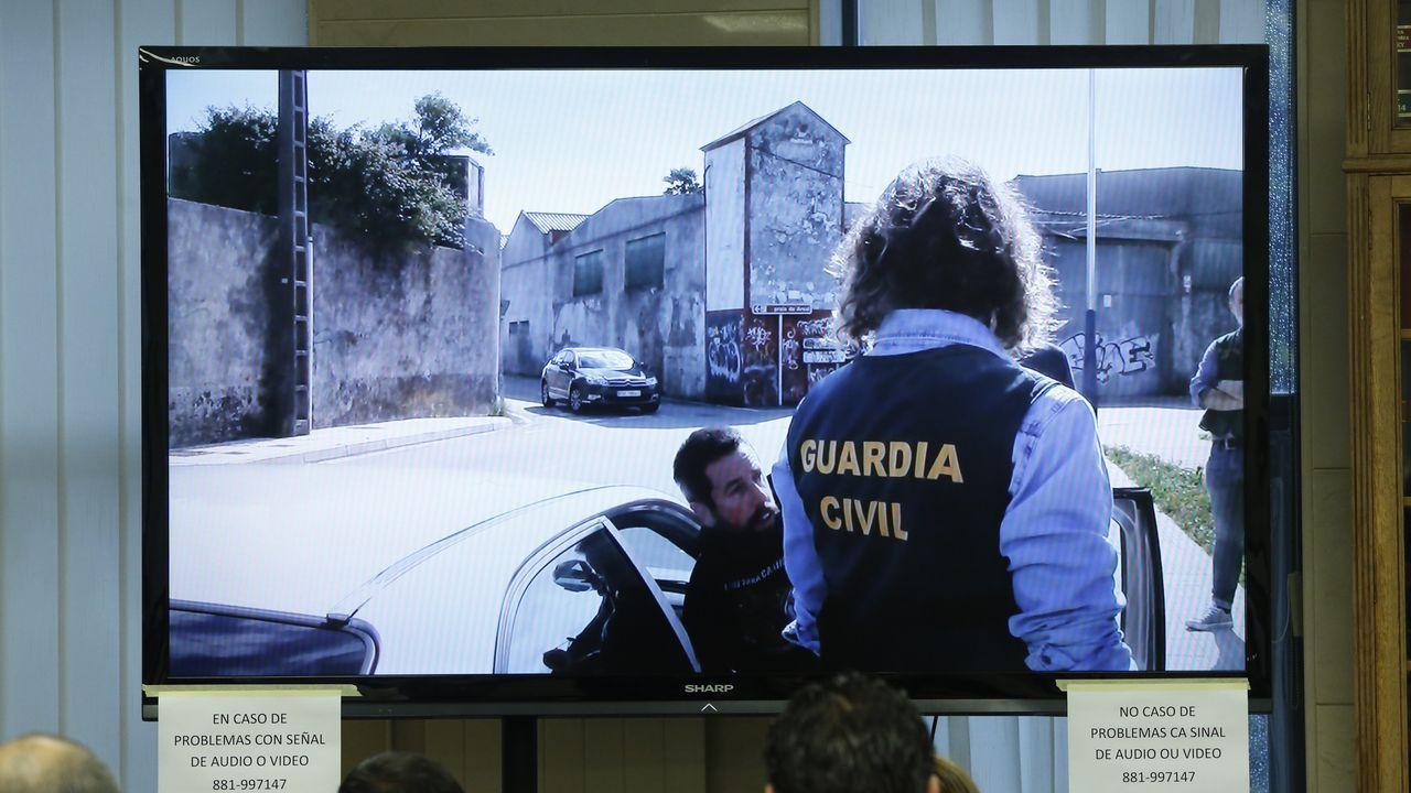 Novena jornada: se visualiza la reconstruccion del crimen