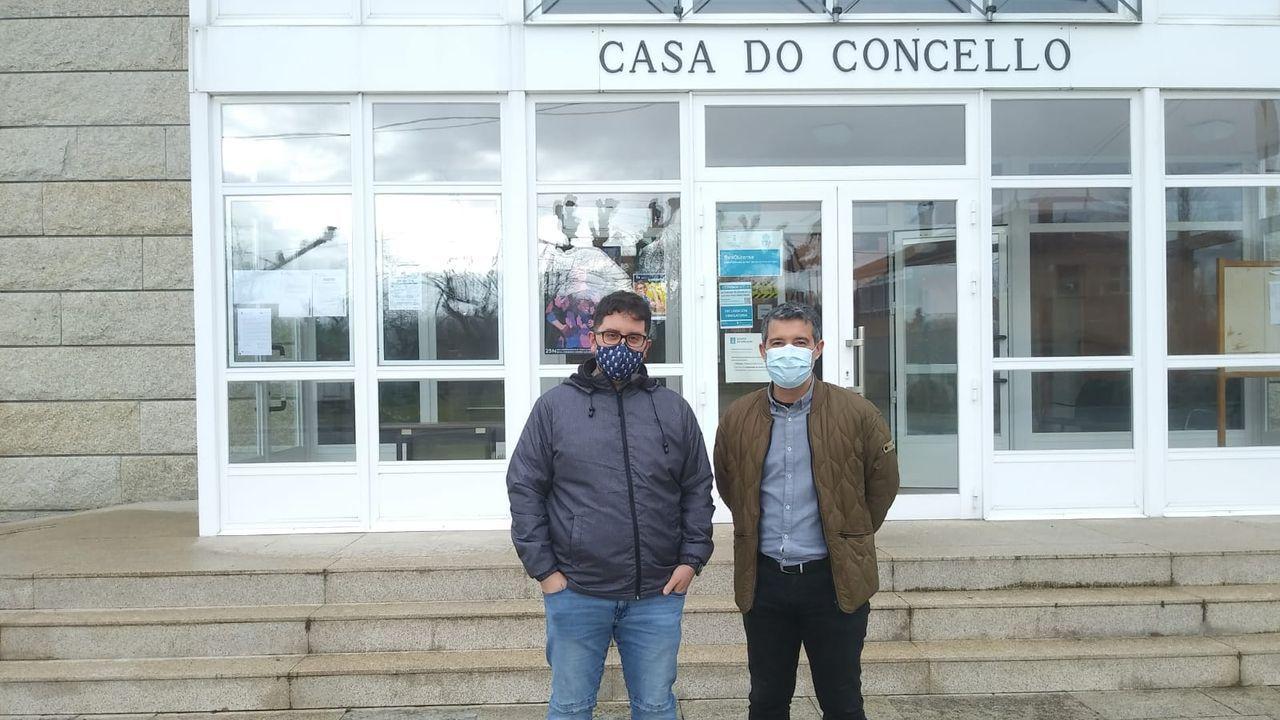 Seis detenidos en una operación contra una banda de robos en Ourense.Núñez Feijoo visitó este lunes el nuevo centro de salud de Paderne de Allariz