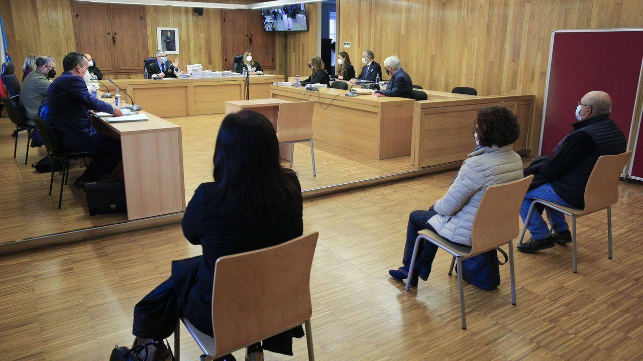 El juicio, este lunes en la Audiencia Provincial de Lugo