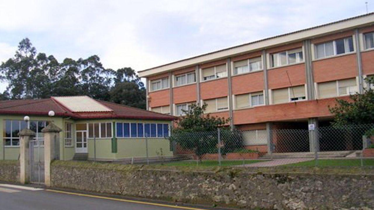 Laberinto de Llanes.Colegio Público Valdellera, Llanes