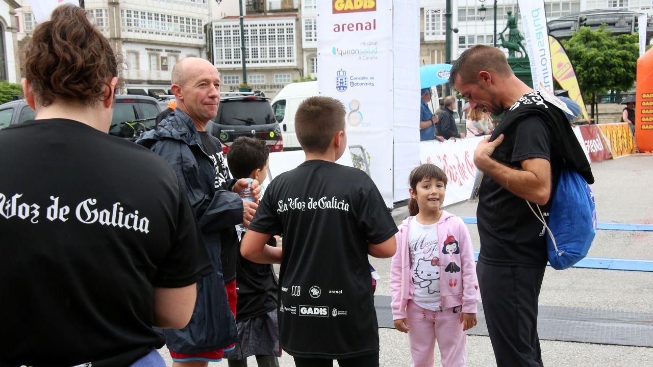Las mejores imágenes de la Carrera de las Empresas de Galicia en Betanzos