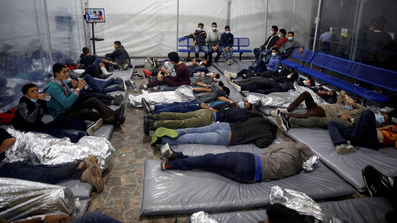 Instalaciones del centro de detención de menores no acompañados de Donna, Texas, donde se encuentra el niño nicaragüense de diez años hallado solo en el desierto por la patrulla fronteriza de Estados Unidos