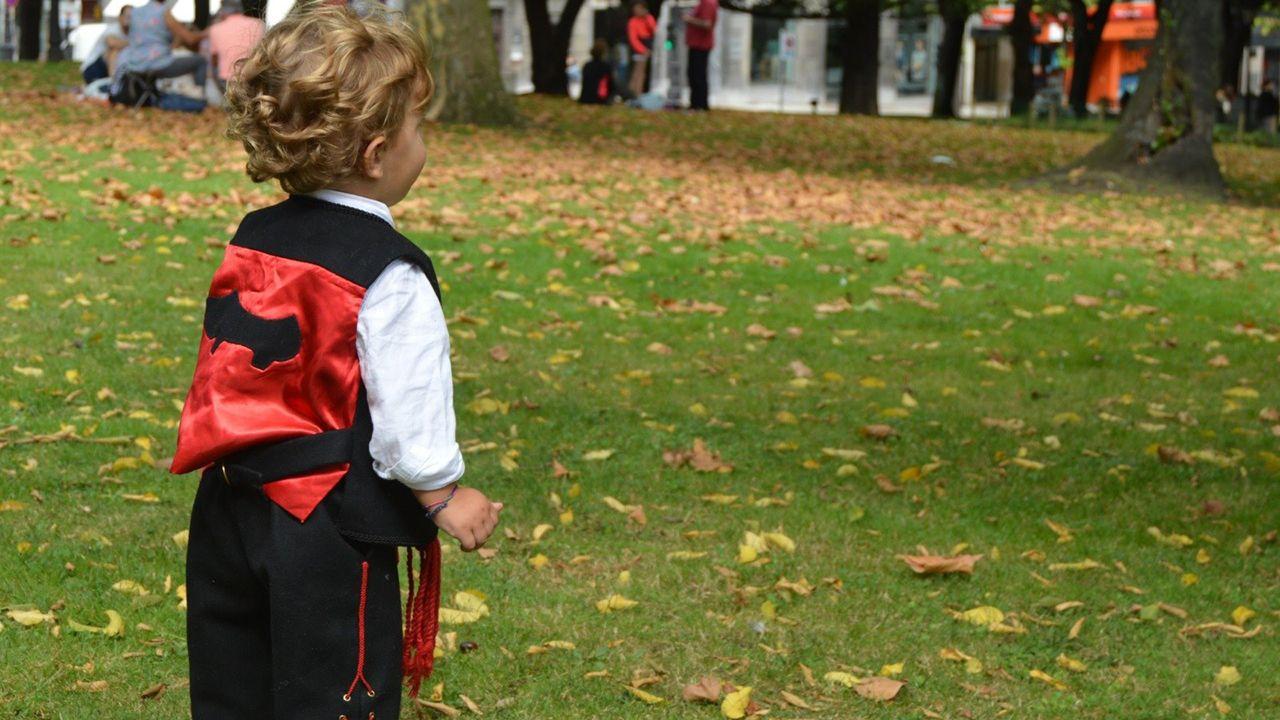 Día del bollo en el Campo San Francisco de Oviedo