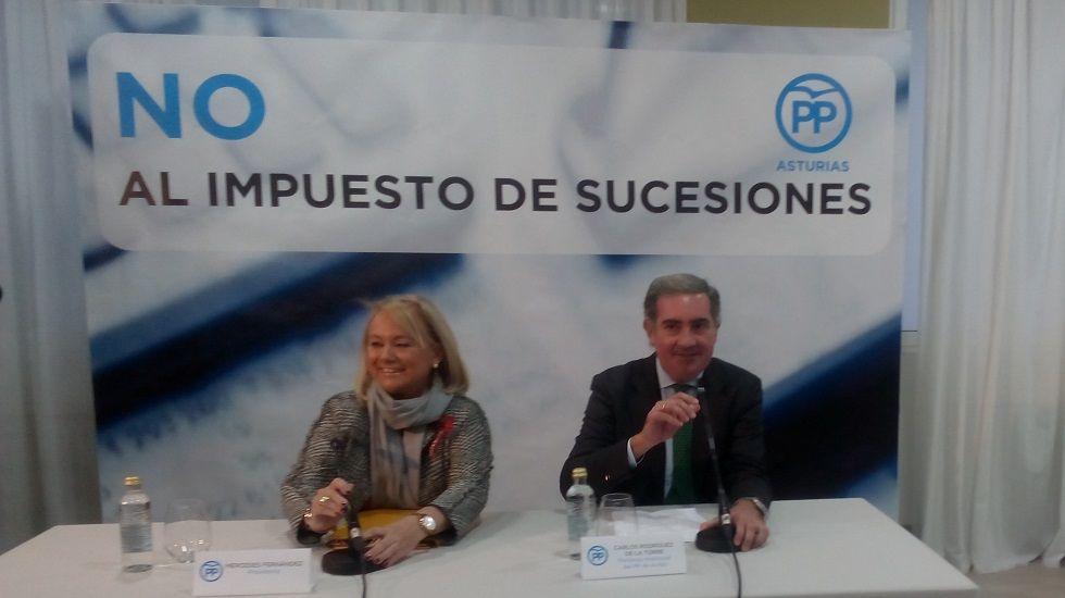 Mercedes Fernández y Carlos Rodríguez de la Torre