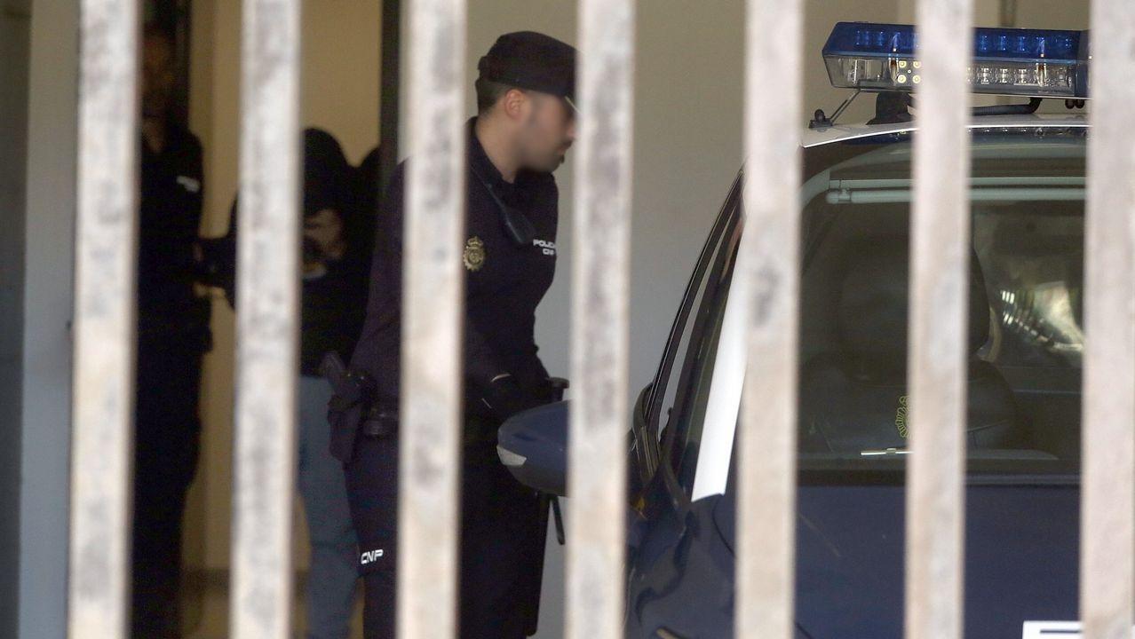 Comienza el juicio al Chicle por el rapto de la joven de Boiro que precipitó su detención.Sede de la Audiencia Provincial en Oviedo