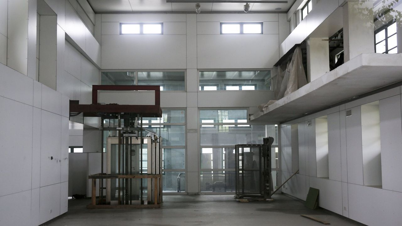 El interior de la Fábrica da Luz