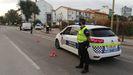 Control de la Policía local de Avilés