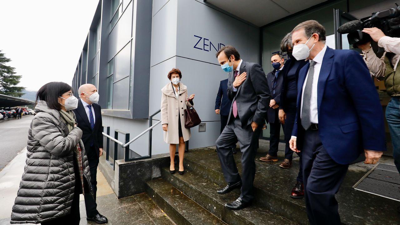 La ministra de Sanidad visita Zendal