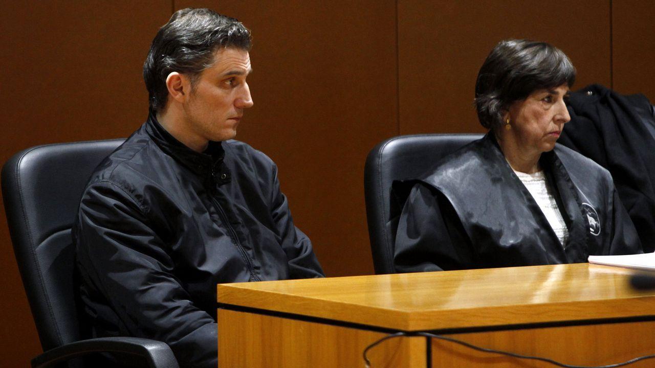 Juan Carlos Quer: «El cumplimiento íntegro de las condenas no es garantía de reinserción, nos lo dijo el asesino de Laura Luelmo».Casado y Moriyón