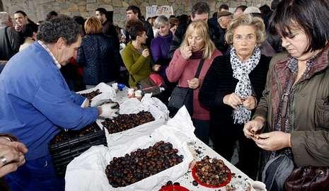 La Festa da Castaña do Courel volverá a Seoane en noviembre.