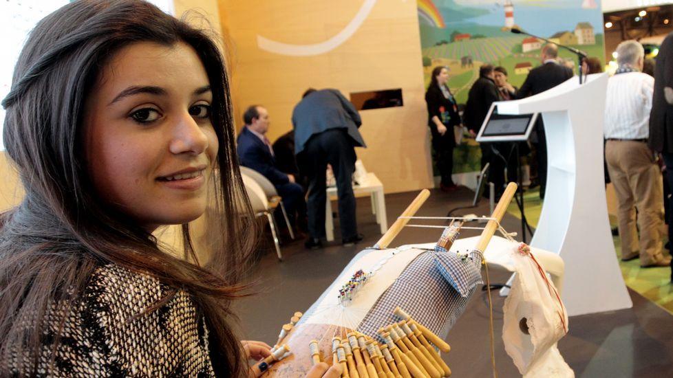Las caras de la Mostra, una a una.Franco Quintáns, Manuel Valeriano Alonso y Sandra Insua en la presentación