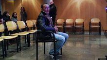 El acusado del crimen de Salesas durante el juicio
