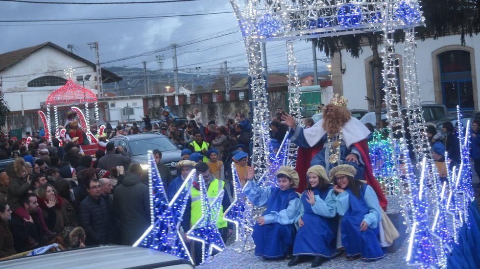 Visitas de los Reyes Magos a Monforte y Sober