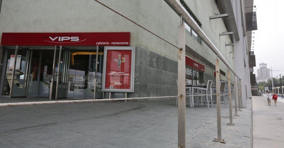 La sala de espectáculos estará en el espacio que ahora ocupan el Vips y otros restaurantes.