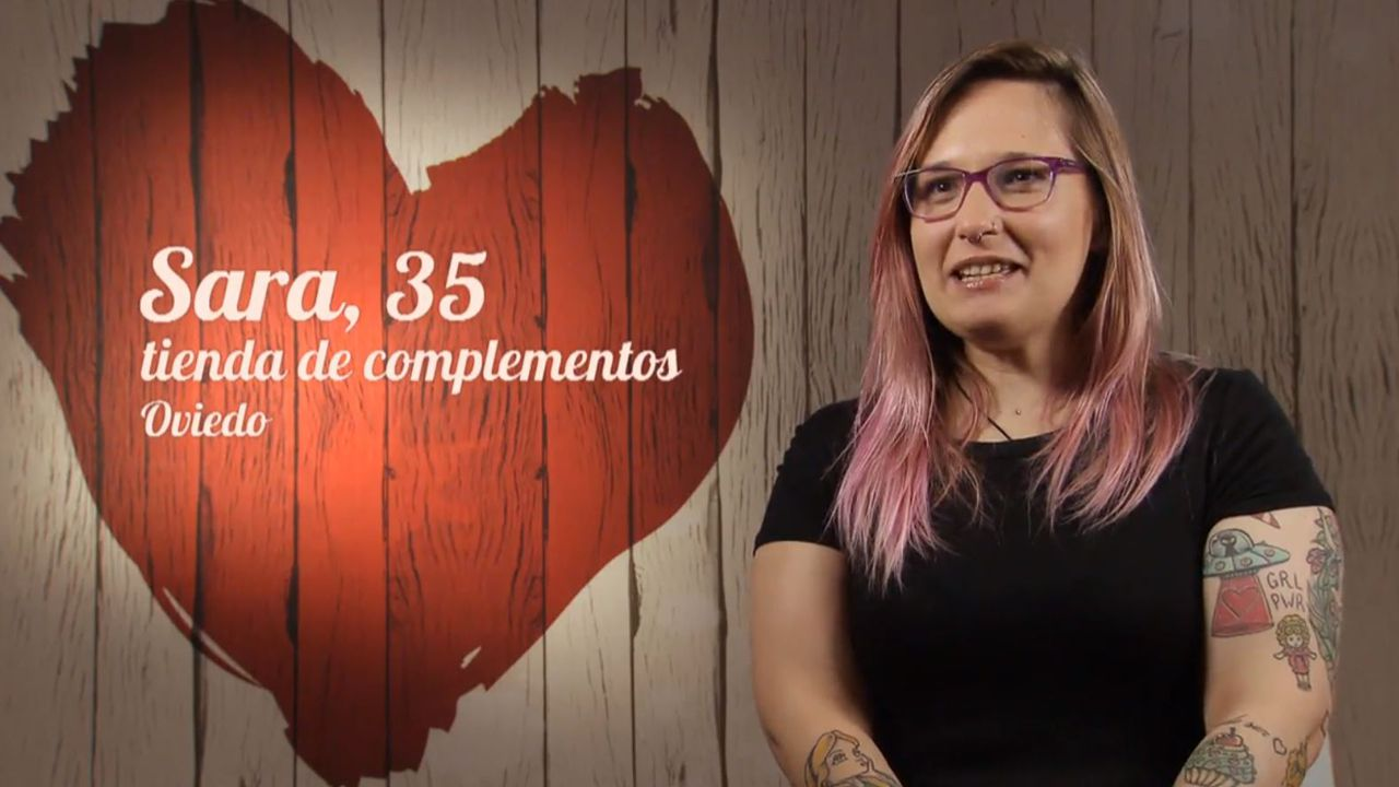Sara, la ovetense en First Dates