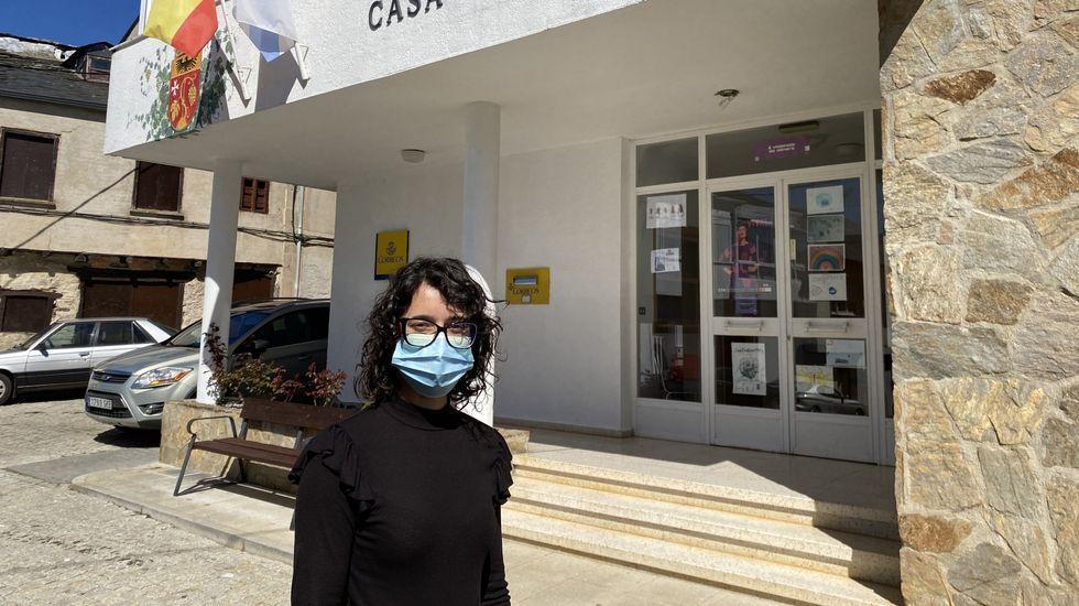 Lamela lleva dos años de alcaldesa en Larouco
